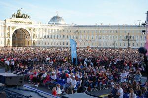 Настроение на Дворцовой площади